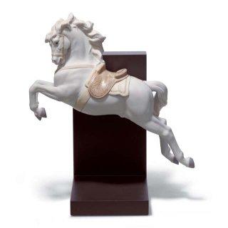 リヤドロ 人形  『挑戦  01018253  HORSE ON PIROUETTE』