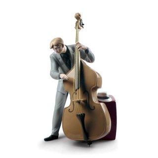 リヤドロ 人形  『ジャズ ベーシスト  01009331 Jazz bassist』