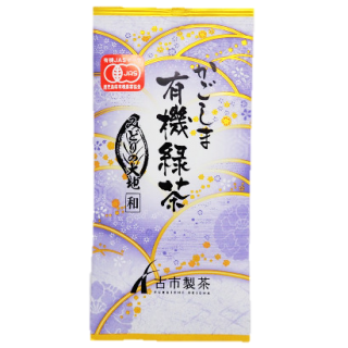 鹿児島 有機緑茶『みどりの大地(和)』 100g