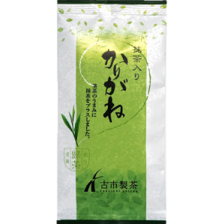 宇治抹茶入り かりがね(茎茶) 100g