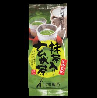 宇治抹茶使用 抹茶入り玄米茶 150g