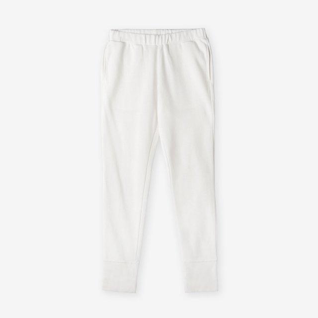 <span>Cotton&Silk Easy Pants / White</span>コットン&シルク イージーパンツ / ホワイト
