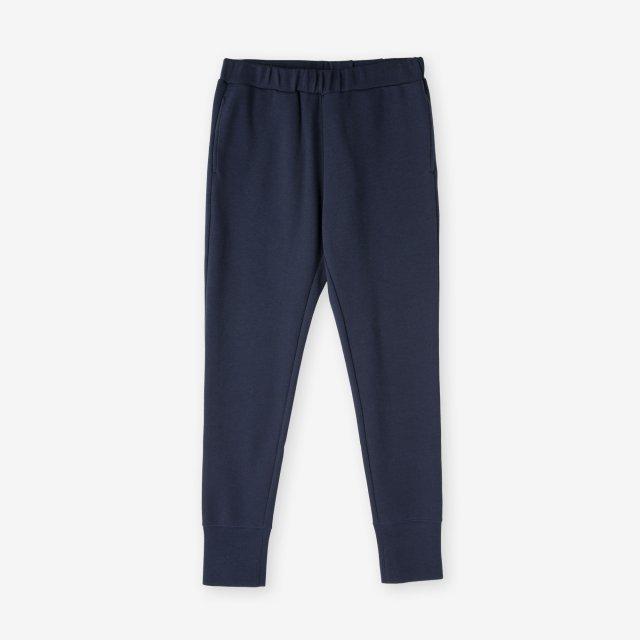 <span>Cotton&Silk Easy Pants / Navy</span>コットン&シルク イージーパンツ / ネイビー