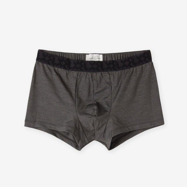 <span>Silk Inner Boxer Briefs / Chacoal Grey</span>シルク ボクサーブリーフ / チャコールグレー