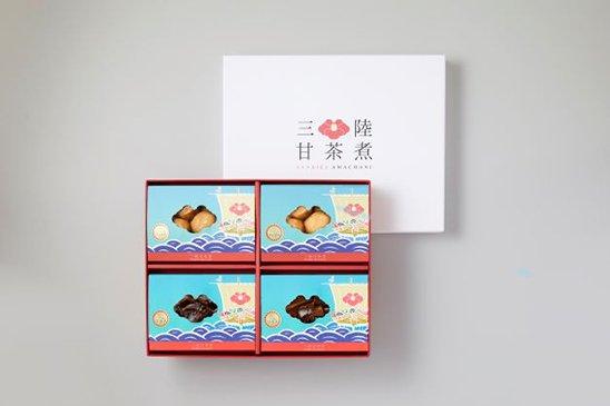 【ご贈答に。健康長寿の願いを込めて】三陸甘茶煮 宝船 4種詰め合わせセット