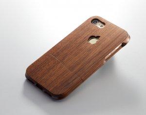 ウッドケース for iPhone ビジネス 【機種限定 永久保証付】落下防止 握りやすい おしゃれ  な ケース