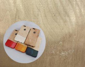 お好みの木目から選べます!ウッドケース for iPhone Unique wood(ユニークウッド)【機種限定 永久保証付】