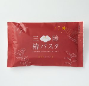 断面 星形 【 三陸 椿 パスタ 】ソースが良くからむ もちもち 極太麺
