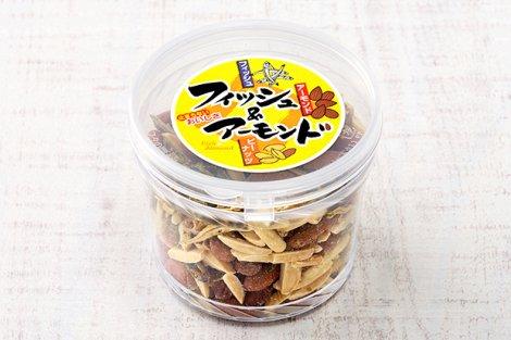 フィッシュ&アーモンド(ピーナッツ入り)150g