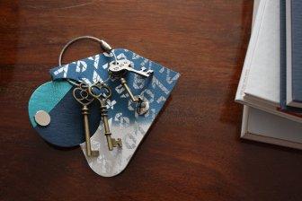 key wrap-彩- 清少納言 縹