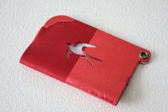 TSUBAME PASS HOLDER RED/濃赤