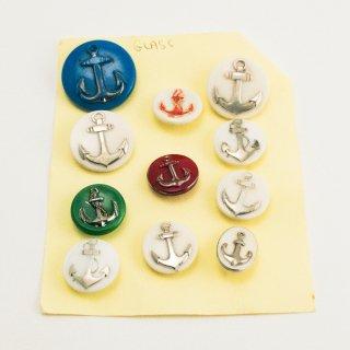 A-015 Antique Anchor Button