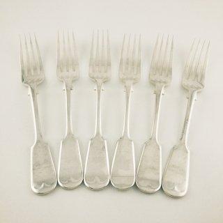 A-034 Antique Dessert Fork 6本セット