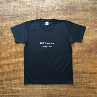 THE SALOON Original Logo T-shirt BLACK