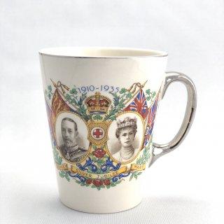 B-008 George� Queen Mary Silver Jubilee Mug