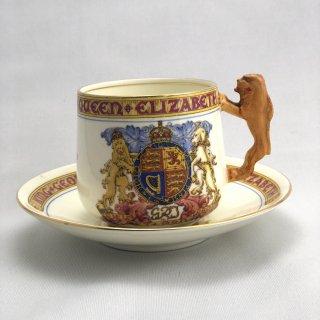 B-014 King George VI & Queen Elizabeth Cup,Saucer,Dish Set