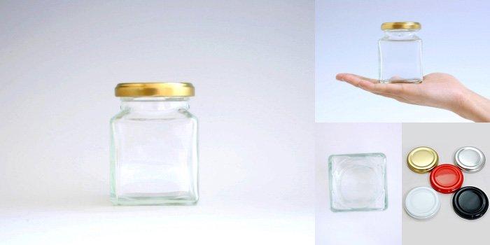 ジャム瓶 K180 四角