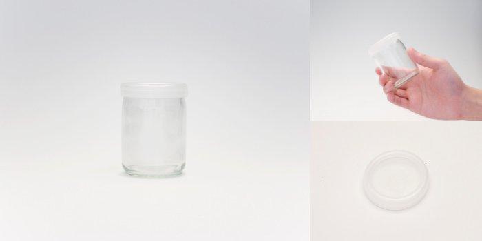 プリン・ヨーグルト瓶  ワンカップ100 PE CAP付