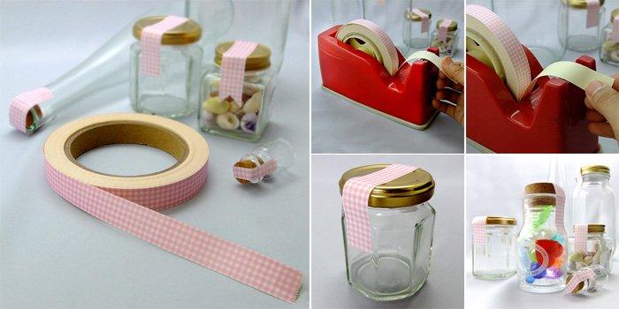 プリン・ヨーグルト瓶  クラフトシール ピンク craftseal-pink 20m