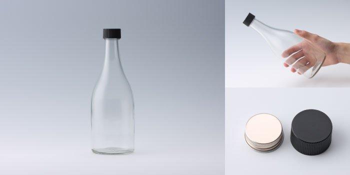 酒・ワイン瓶 SKK500 透明
