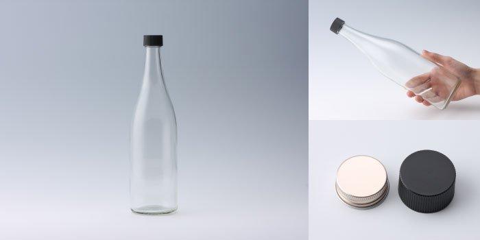 酒・ワイン瓶 サケM720PP