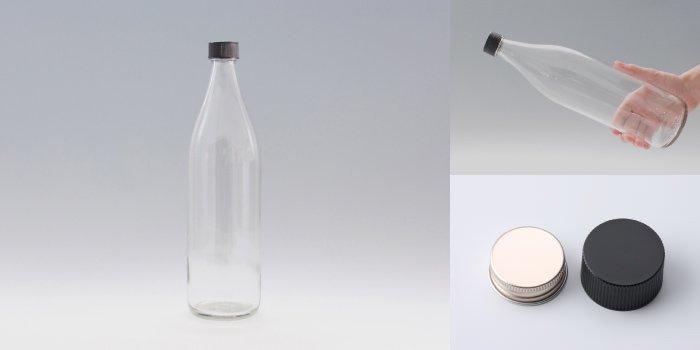 酒・ワイン瓶 灘900 透明