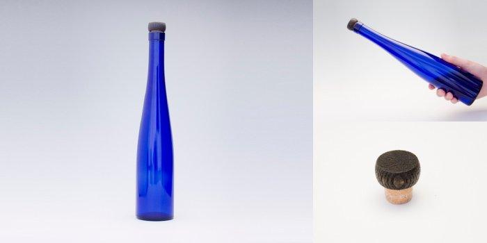 酒・ワイン瓶 375モーゼルCBT  木口コルク付