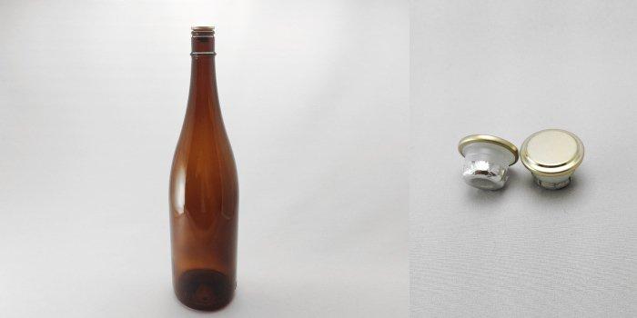 酒・ワイン瓶 清酒1800-A(一升瓶)