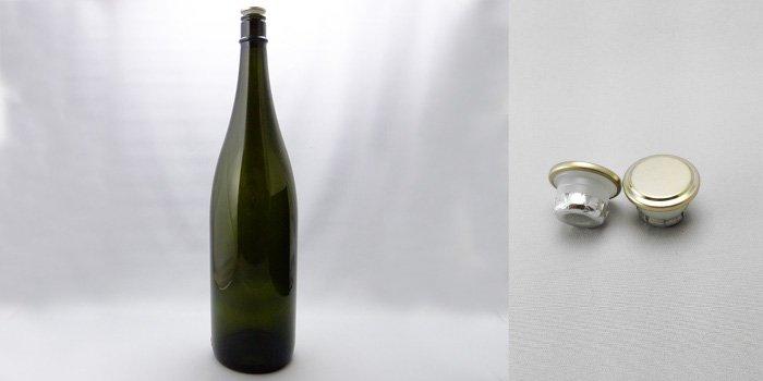 酒・ワイン瓶 清酒1800-DS(一升瓶)  ダークスモーク