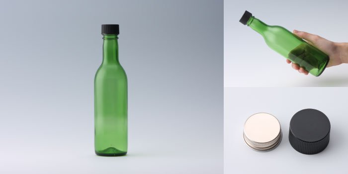 ワイン・洋酒瓶 ワイン360 グリーン