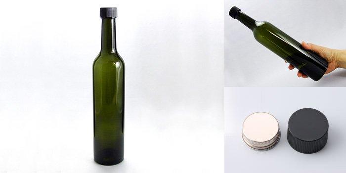 酒・ワイン瓶 スリムワイン500 DS