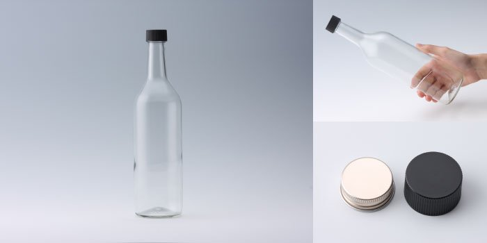 酒・ワイン瓶 ワイン720 PPL 透明