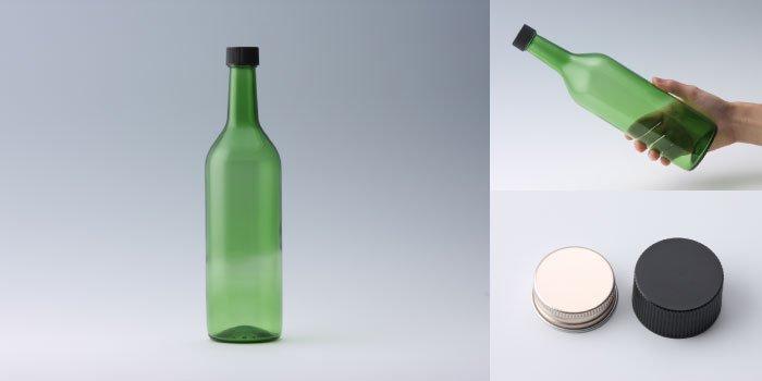 酒・ワイン瓶 ワイン720 PPL グリーン