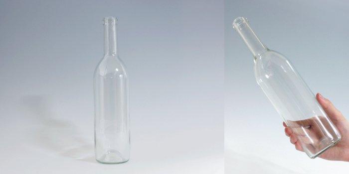 酒・ワイン瓶 ワイン720 木口 透明