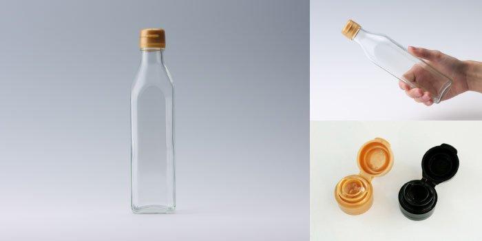 タレ・ドレッシング瓶 SO-300角