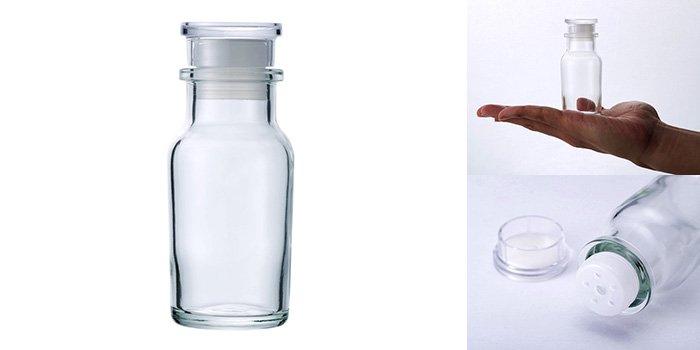 ワグナー瓶60 樹脂キャップ 中栓付