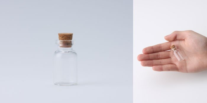 コルク付規格瓶 v18×33