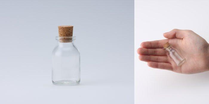 コルク付規格瓶 v27×46