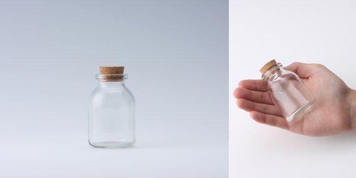 コルク付規格瓶 v48×72