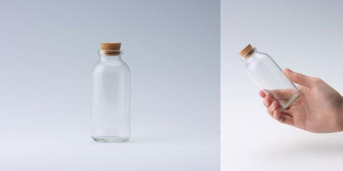 コルク付規格瓶 V48×110
