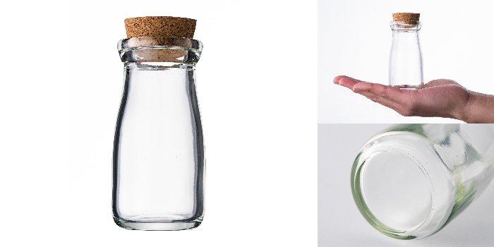 コルク付規格瓶 A丸90Nコルク付