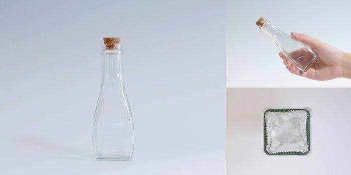 コルク付規格瓶 オールラウンド 120B コルク付
