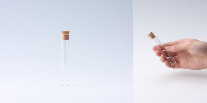 コルク付瓶 15×90