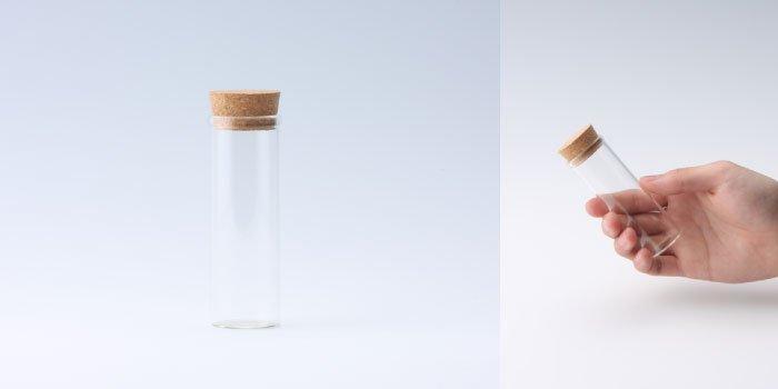 コルク付瓶 30×90