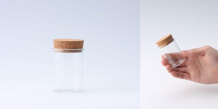 コルク瓶 コルク付瓶 40×55