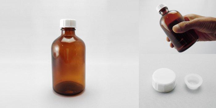 遮光瓶 細口びん 褐色NO.250