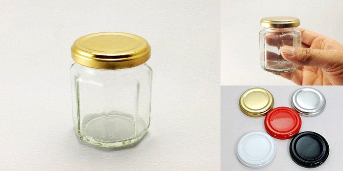 ジャム瓶 N125-8角ST