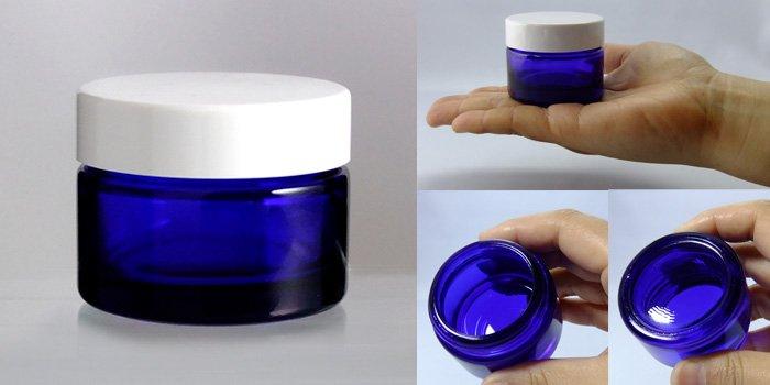 遮光瓶 クリーム瓶 M-40クリーム 白CAP