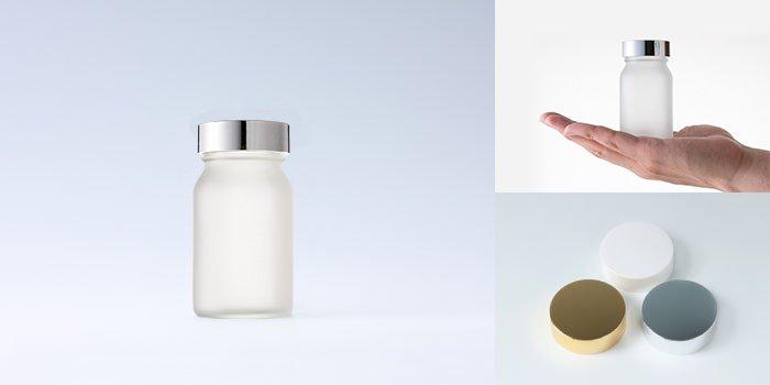 健康食品・規格瓶 規格瓶 PS-10K 透明 フロスト