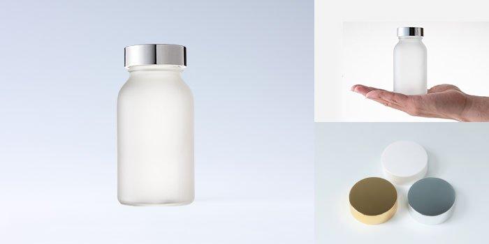 健康食品・規格瓶 規格瓶 PS-12K 透明 フロスト